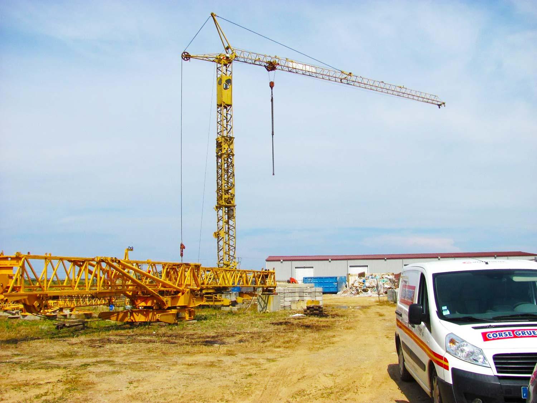 réparation grue à Borgo - Corse Grues Service